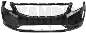 Bumper cover front painted 39830473 (1068383) - Volvo XC60 (-2017) - bumper cover front painted Genuine    717 for front jg02 jg03 jg04 painted rdesign r design vehicles vp03 without