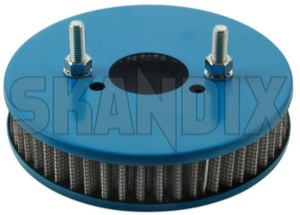 Performance Air filter Flat Dual carburettor SU HS6  (1068454) - Volvo 120 130 220, 140, P1800, PV P210 - 1800e airfilters p1800e performance air filter flat dual carburettor su hs6 sports Own-label 6 carburetor carburettor double dual flat hs hs6 stage su twin two twostage