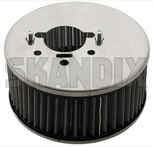 Performance Air filter Stromberg 175  (1068461) - Volvo 120 130 220, 140, 164, 200, P210 - airfilters brick performance air filter stromberg 175 sports Own-label 175 connector crankcase stromberg stud ventilation without
