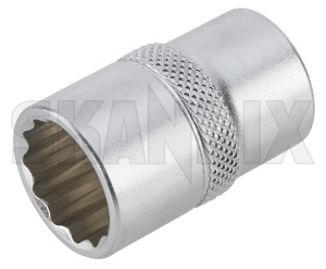 Hexagon socket wrench for Flywheel  (1068551) - Volvo 850, 900, C30, C70 (2006-), C70 (-2005), S40 V40 (-2004), S40 V50 (2004-), S60 (-2009), S60, V60, S60XC, V60XC (2011-2018), S70 V70 (-2000), S80 (2007-), S80 (-2006), S90 V90 (-1998), V40 (2013-), V40 XC, V70 (2008-), V70 P26, V70 XC (-2000), V70 XC70 (2008-), XC60 (-2017), XC70 (2001-2007), XC90 (-2014) - hexagon socket wrench for flywheel Own-label 1/2 12 1 2  1/2 12inch 1 2 inch 12 12,5 125 12 5 12,5 125mm 12 5mm 12edge double edge external flywheel for hex inch mm multitooth multi tooth outer polygon