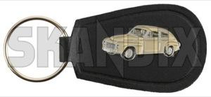 Key fob Volvo PV544 beige  (1071082) - universal  - key fob volvo pv544 beige Own-label 40 40mm 65 65mm beige metal mm pv544 vinyl volvo