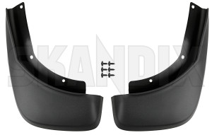 Mud flap rear Kit for both sides 31359684 (1071430) - Volvo XC60 (-2017) - mud flap rear kit for both sides Own-label addon add on black both drivers for kit left material passengers rear right side sides with