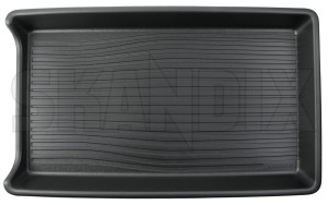 Trunk mat Synthetic material charcoal Dog guard Cargo divider 31414809 (1072659) - Volvo XC90 (2016-) - trunk mat synthetic material charcoal dog guard cargo divider Genuine cargo charcoal divider dog guard high material plastic synthetic