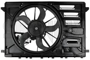 Electrical radiator fan 31319166 (1073183) - Volvo V40 (2013-), V40 XC - cooler cooling fans electrical radiator fan electrically engine fans fan motor Genuine