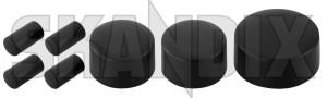 Knob, Radio black Kit 7 -piece  (1074467) - Volvo S60 (-2009), S80 (-2006), V70 P26, XC70 (2001-2007) - auto knobs car stero knobs knob radio black kit 7 piece knob radio black kit 7piece switches Own-label   piece  piece 7 7  7piece 7 piece black kit