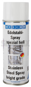 Stainless Steel spray spezial hell 400 ml  (1074478) - universal  - anti corrosion inox paint protective coatings stainless steel spray spezial hell 400ml surface coating v2a v4a weicon 400 400ml hell ml spezial spraycan