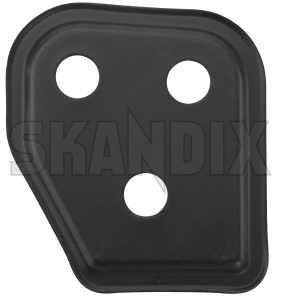 Cover, Locking Backseat bench right 1310314 (1074499) - Volvo 700, 900 - cover locking backseat bench right Genuine black right