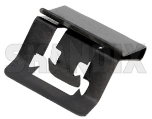 Clip, Interior panel Side Skirt Roofsection 1265704 (1074501) - Volvo 700, 900 - clip interior panel side skirt roofsection Genuine covering panel rocker roofsection side sill skirt trim