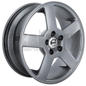 Felge Aluminium 7x17 ET43 Titan 3529650 (1074609) - Volvo 850, 900, C70 (-2005), S70 V70 (-2000), S90 V90 (-1998), V70 XC (-2000) - 850 850er 854 855 8er 900er 960 960er 960i 960ii 964 965 9er alufelgen aluminiumfelge cabrio cross country estate felge aluminium 7x17 et43 titan felgen kombi radfelge s70 s90 v70 v70i v70xc v90 wagon xc Original   loch  loch 108 108mm 5 5  5loch 5 loch 7x17 aluminium eintragungspflichtig et43 grau grauer lackiert lackierter metallic metallisch mm neuteil titan