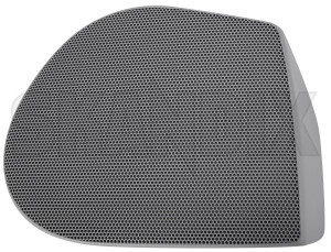 Speaker cover 30808338 (1074782) - Volvo S40 V40 (-2004) - loudspeaker speaker cover Genuine 7x6x door front grey light right