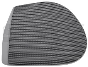Speaker cover 30808337 (1074783) - Volvo S40 V40 (-2004) - loudspeaker speaker cover Genuine 7x6x door front grey left light