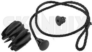 Strap, Hat shelf 31675006 (1075435) - Volvo XC40 - limiter straps parcel shelfs strap hat shelf straps Genuine