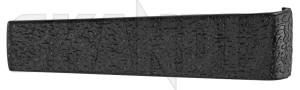 Cover, Window crank black 1213709 (1075484) - Volvo 140, 200 - brick cover window crank black Genuine black