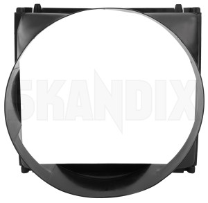 Housing, Radiator fan 1276387 (1075555) - Volvo 700, 900 - brick housing radiator fan Genuine air conditioner for vehicles without