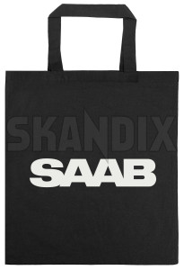 Bag SAAB black Cotton  (1075755) - universal  - bag saab black cotton shopping bags Own-label black cotton saab