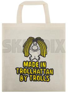 Bag Made in Trollhättan by trolls beige Cotton  (1075761) - universal  - bag made in trollhaettan by trolls beige cotton shopping bags Own-label beige by cotton in made trollhaettan trolls