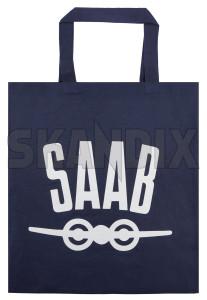 Bag Saab Plane blue Cotton  (1075762) - universal  - bag saab plane blue cotton shopping bags Own-label blue cotton plane saab