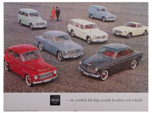 Poster Schwedisch Volvo