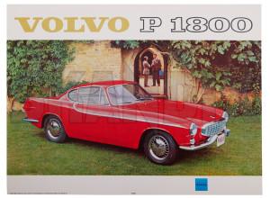 Poster Volvo P1800 Jensen rot  (1075865) - Volvo universal, P1800 - 1800 1800s bild coupe druck jensen p1800s poster poster volvo p1800 jensen rot sportcoupe wandbild Hausmarke 30 30cm 40 40cm cm jensen p1800 rot volvo