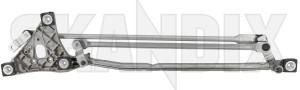 Linkage, Wiper mechanism  (1075995) - Volvo C30, C70 (2006-), S40 V50 (2004-) - linkage wiper mechanism Own-label cleaning drive for hand left lefthand left hand lefthanddrive lhd vehicles window windscreen
