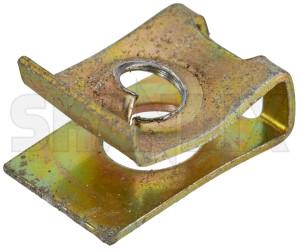 Cage nut 7968555 (1077080) - Saab 900 (-1993), 9000 - bucket nut cage nut square nut Genuine