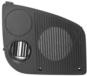 Speaker cover 4169801 (1077204) - Saab 900 (-1993) - loudspeaker speaker cover Genuine black dashboard drive for hand left lefthand left hand lefthanddrive lhd right upper vehicles