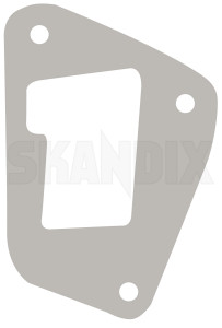 Gasket, Door lock front fits left and right 8456006 (1077673) - Saab 900 (-1993) - gasket door lock front fits left and right seals Genuine and fits front left right