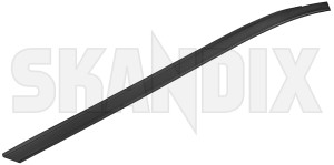Trim moulding, Glas Windscreen left A-pillar plastic coated black stainless  (1079110) - Volvo V70 P26, XC70 (2001-2007) - trim moulding glas windscreen left a pillar plastic coated black stainless trim moulding glas windscreen left apillar plastic coated black stainless window scraper skandix apillar a pillar black clips coated for left plastic rail roof stainless vehicles windscreen with without