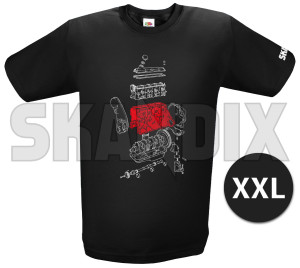 T-Shirt B200 / B230 - Redblock XXL  (1079251) - Volvo universal - t shirt b200  b230  redblock xxl tshirt b200 b230 redblock xxl Own-label      /    1/2 12 1 2 arm b200 b230 black imprint redblock roundneck with xxl