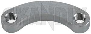 Propeller shaft nut washer 89891 (1079471) - Volvo universal Classic - cardan shaft flange mother plate nut plate propeller shaft nut washer threaded block threaded plate skandix 44,5 445 44 5 44,5 445mm 44 5mm mm outlet transmission