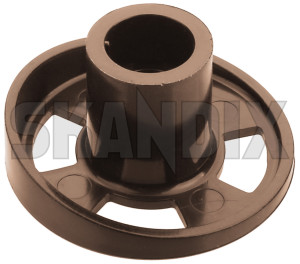 Cover, Seat adjustment 1294439 (1079534) - Volvo 200 - cover seat adjustment Genuine brown front seat seats