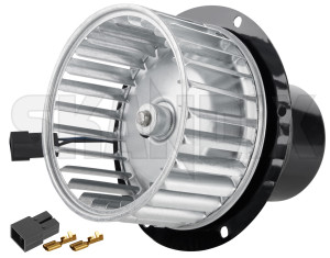 Electric motor, Blower 668606 (1079744) - Volvo PV P210 - electric motor blower interior fan skandix 12 12v new part v
