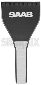 Eiskratzer grau-weiß  (1079949) - Saab universal - eiskratzer grau weiss eiskratzer grauweiss kratzer scheibenkratzer Original grauweiss grau weiss saab