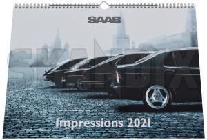 """Calendar 2021 """"SAAB Impressions""""  (1079950) - Saab universal - calendar 2021 saab impressions calendar 2021 saab impressions  calendars photocalendars wall calendars Genuine saab  saab 12 12pages 2021 300 300mm 420 420mm impressions impressions  mm pages"""