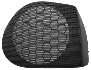 Speaker cover 30883593 (1080782) - Volvo S40 V40 (-2004) - loudspeaker speaker cover Genuine offblack  offblack  black door front right