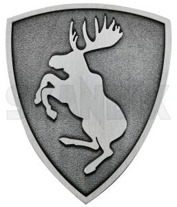 Emblem Ferrari moose (3D) 66 mm 72 mm  (1080908) - universal  - badges emblem ferrari moose 3d 66mm 72mm Own-label 3d  3d  66 66mm 72 72mm adhesive brushed diecast die cast ferrari mm moose pad premium quality with zinc