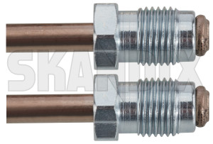Brake lines Front axle right 8929127 (1081052) - Saab 99 - brake lines front axle right Own-label cunifer  cunifer       axle brake caliper connector coppernickeliron copper nickel iron front right