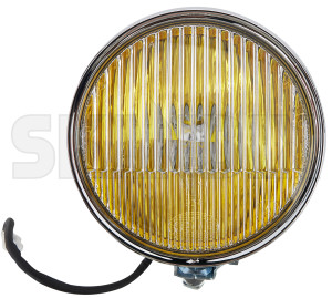 Fog light chromed yellow 12 V Piece  (1081997) - universal Classic - fog light chromed yellow 12v piece hella 118 118mm 12 12v 130 130mm bulb chromed h1 mm piece round v without yellow
