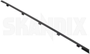 Drip rail moulding right rear Section 12795076 (1082252) - Saab 9-3 (2003-) - drip rail moulding right rear section trim moulding Genuine black rear right section