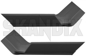 Drip rail moulding rear Kit for both sides  (1082507) - Saab 900 (1994-), 900 (-1993) - drip rail moulding rear kit for both sides trim moulding Own-label both drivers for kit left passengers rear right side sides